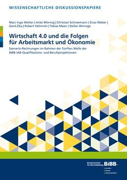Abbildung von Wolter / Mönnig / Schneemann   Wirtschaft 4.0 und die Folgen für Arbeitsmarkt und Ökonomie   2019   Szenario-Rechnungen im Rahmen ...   200