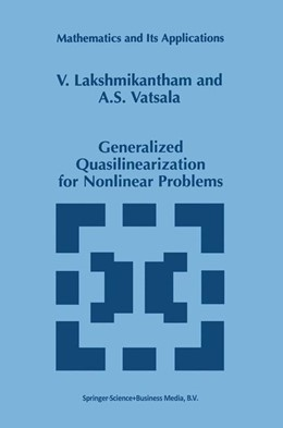 Abbildung von Lakshmikantham / Vatsala | Generalized Quasilinearization for Nonlinear Problems | 1998 | 440