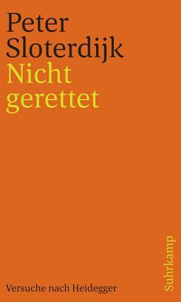 Abbildung von Sloterdijk | Nicht gerettet | 1. Auflage | 2019 | beck-shop.de