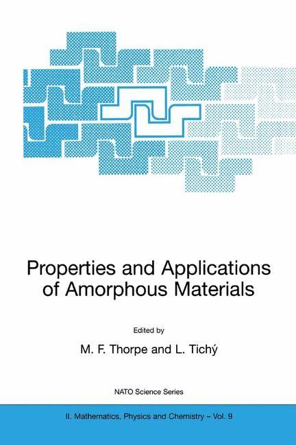 Abbildung von Thorpe / Tichý   Properties and Applications of Amorphous Materials   2001