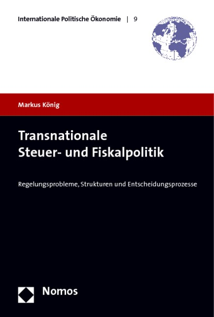 Abbildung von König   Transnationale Steuer- und Fiskalpolitik   2009