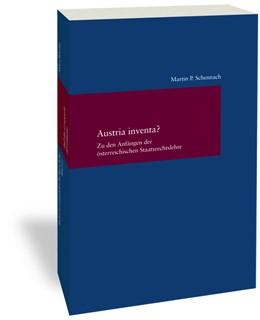 Abbildung von Schennach | Austria inventa? | 1. Auflage | 2020 | 324 | beck-shop.de