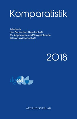 Abbildung von Simonis / Sexl | Komparatistik 2018 | 1. Auflage | 2019 | beck-shop.de