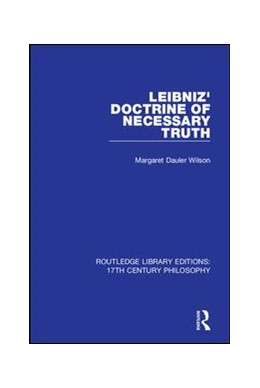 Abbildung von Wilson | Leibniz' Doctrine of Necessary Truth | 2019