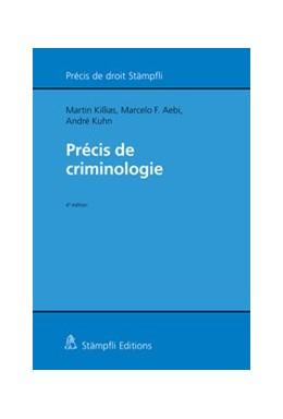 Abbildung von Killias / Kuhn / Aebi | Précis de criminologie | 4. Auflage 2019 | 2019