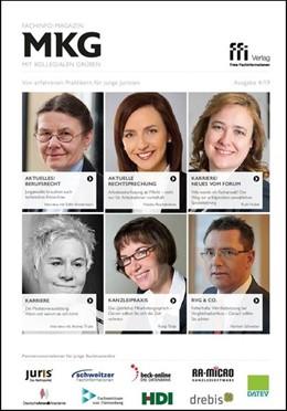 Abbildung von Fachinfo-Magazin MkG • Ausgabe 04/2019 | 1. Auflage | 2019 | beck-shop.de