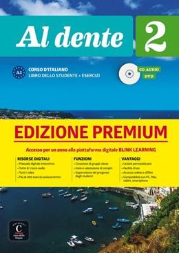 Abbildung von Al dente 2 (A2). Libro dello studente+ esercizi + CD + DVD + Premium   1. Auflage   2019   beck-shop.de