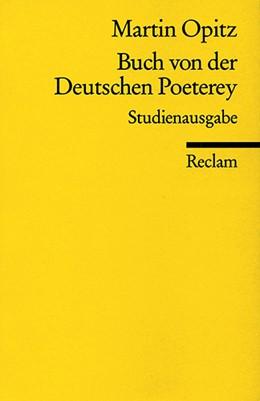 Abbildung von Opitz / Jaumann   Buch von der Deutschen Poeterey (1624)   2002   Studienausgabe   18214