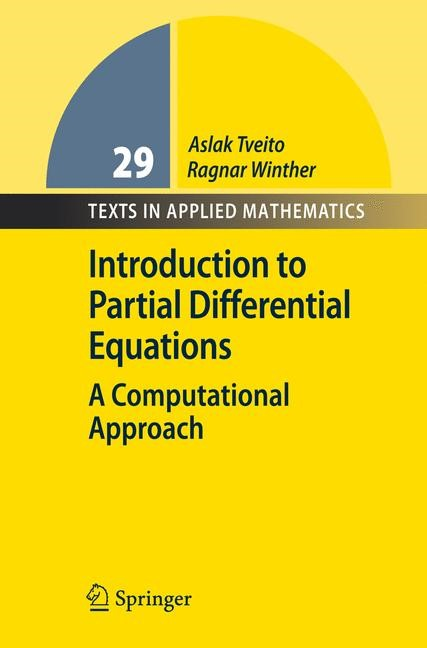 Abbildung von Tveito / Winther | Introduction to Partial Differential Equations | 1st ed. 2004. 2nd printing | 2008