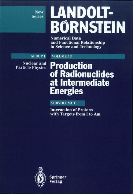 Abbildung von Interactions of Protons with Targets from I to Am   1993