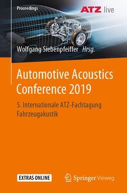 Abbildung von Siebenpfeiffer | Automotive Acoustics Conference 2019 | 1. Auflage | 2020 | beck-shop.de