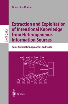 Abbildung von Ursino | Extraction and Exploitation of Intensional Knowledge from Heterogeneous Information Sources | 2002 | Semi-Automatic Approaches and ... | 2282
