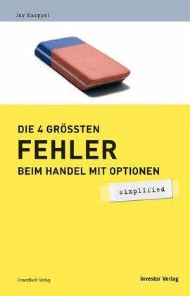 Die 4 größten Fehler beim Handel mit Optionen - simplified, 2006 | Buch (Cover)
