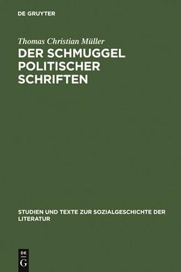 Abbildung von Müller | Der Schmuggel politischer Schriften | 2001 | Bedingungen exilliterarischer ... | 85