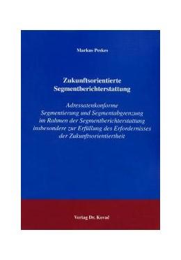 Abbildung von Peskes   Zukunftsorientierte Segmentberichterstattung   2004   Adressatenkonforme Segmentieru...   20