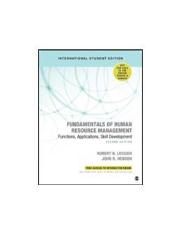 Abbildung von Lussier / Hendon   Fundamentals of Human Resource Management - International Student Edition   2. Auflage   2019   beck-shop.de