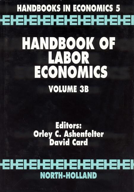 Abbildung von Ashenfelter / Card   Handbook of Labor Economics   1999