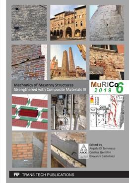 Abbildung von Di Tommaso / Gentilini / Castellazzi   Mechanics of Masonry Structures Strengthened with Composite Materials III   2019   Volume 817