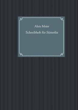 Abbildung von Meier | Schreibheft für Sütterlin | 2019