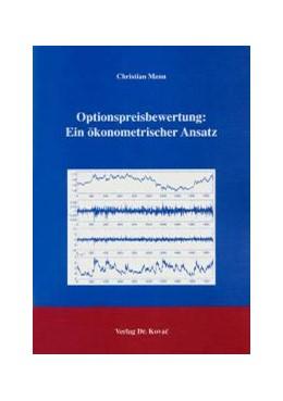 Abbildung von Menn | Optionspreisbewertung: Ein ökonometrischer Ansatz | 1. Auflage | 2004 | 20 | beck-shop.de