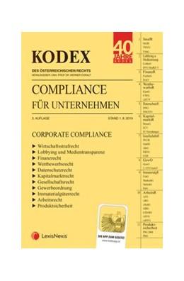 Abbildung von Doralt | KODEX Compliance für Unternehmen 2019/20 | 3. Auflage | 2019 | CORPORATE COMPLIANCE