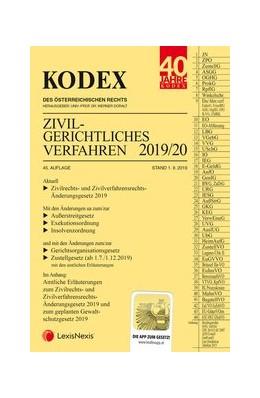 Abbildung von Doralt | KODEX Zivilgerichtliches Verfahren 2019/20 | 45. Auflage | 2019