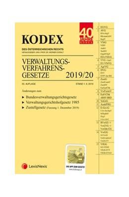 Abbildung von Doralt   KODEX Verwaltungsverfahrensgesetze (AVG) 2019/20   55. Auflage   2019