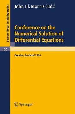 Abbildung von Morris | Conference on the Numerical Solution of Differential Equations | 1969 | Held in Dundee/Scotland, June ... | 109