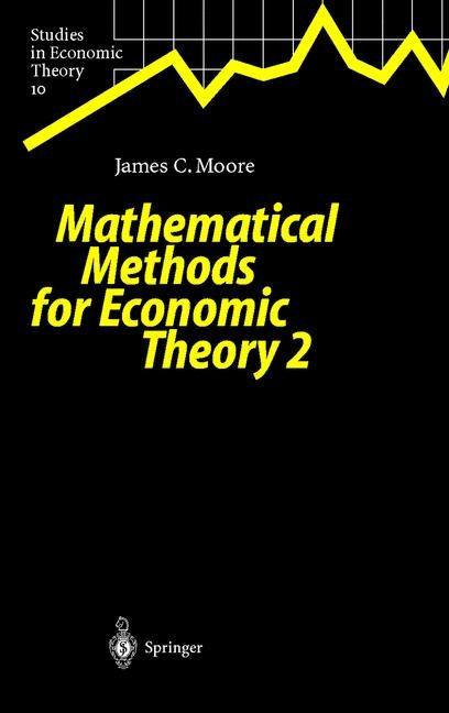 Abbildung von Moore | Mathematical Methods for Economic Theory 2 | 1999