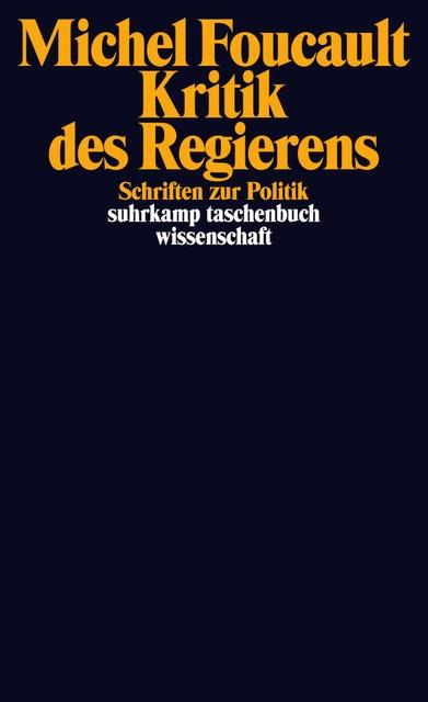 Abbildung von Foucault / Bröckling | Kritik des Regierens | Originalausgabe | 2010