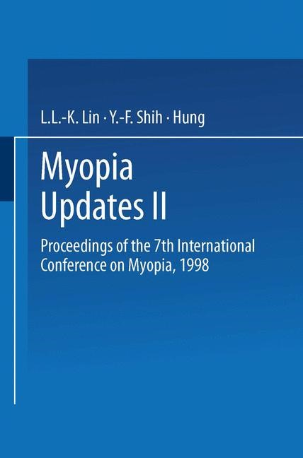 Abbildung von Lin / Shih / Hung | Myopia Updates II | 2000