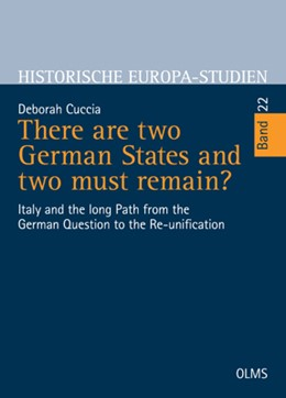 Abbildung von Cuccia | There are two German States and two must remain? | 2019 | 2019 | Italy and the long Path from t... | 22