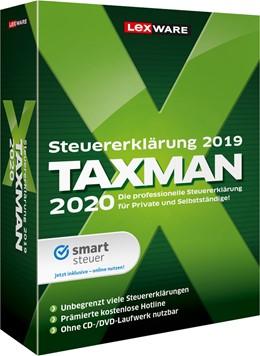 Abbildung von TAXMAN 2020 | Version 26.00 | 2019 | Der zuverlässige Partner für I...