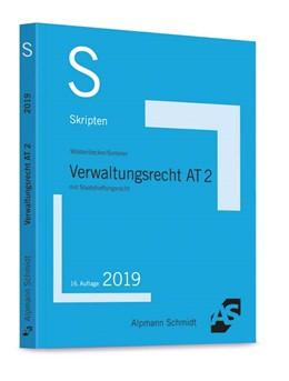 Abbildung von Wüstenbecker / Sommer | Skript Verwaltungsrecht AT 2 | 16. Auflage | 2019 | mit Staatshaftungsrecht