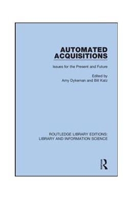 Abbildung von Dykeman / Katz | Automated Acquisitions | 1. Auflage | 2019 | 9 | beck-shop.de