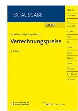Abbildung von Schreiber / Nientimp (Hrsg.) | Verrechnungspreise | 9. Auflage | 2020 | beck-shop.de