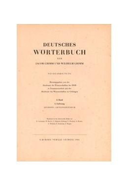 Abbildung von Grimm / Berlin-Brandenburgische Akademie der Wissenschaften und der Akademie der Wissenschaften zu Göttingen   Grimm, Dt. Wörterbuch Neubearbeitung   1999