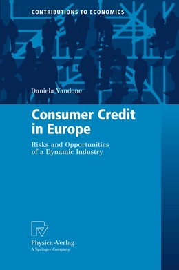 Abbildung von Vandone | Consumer Credit in Europe | 2009 | Risks and Opportunities of a D...