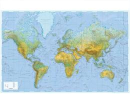Abbildung von Wandkarte Welt physisch   1. Auflage   2018   beck-shop.de