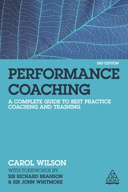 Abbildung von Wilson   Performance Coaching: A Complete Guide to Best Practice Coaching and Training   2020