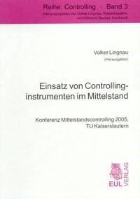 Einsatz von Controllinginstrumenten im Mittelstand   Lingau / Lingnau, 2010   Buch (Cover)