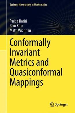 Abbildung von Hariri / Klén / Vuorinen | Conformally Invariant Metrics and Quasiconformal Mappings | 1st ed. 2020 | 2020