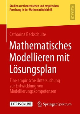 Abbildung von Beckschulte   Mathematisches Modellieren mit Lösungsplan   1. Auflage   2019   beck-shop.de