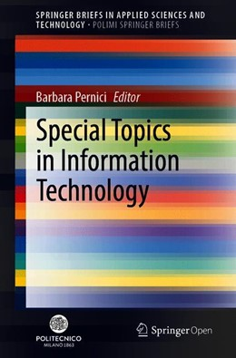 Abbildung von Pernici | Special Topics in Information Technology | 1st ed. 2020 | 2019
