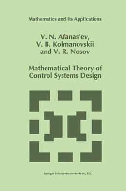 Abbildung von Afanasiev / Kolmanovskii / Nosov   Mathematical Theory of Control Systems Design   1996   1996   341