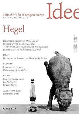 Abbildung von Zeitschrift für Ideengeschichte Heft XIV/2 Sommer 2020   1. Auflage   2020   beck-shop.de