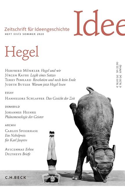 Cover: , Zeitschrift für Ideengeschichte Heft XIV/2 Sommer 2020