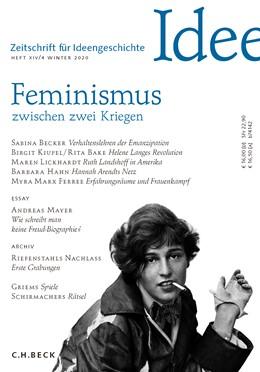 Abbildung von Zeitschrift für Ideengeschichte Heft XIV/4 Winter 2020 | 1. Auflage | 2020 | beck-shop.de