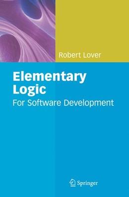 Abbildung von Lover | Elementary Logic | 2008 | For Software Development
