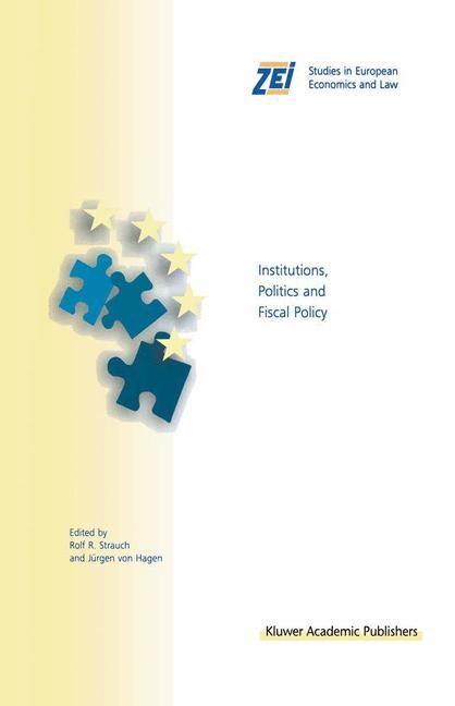 Abbildung von Strauch / von Hagen   Institutions, Politics and Fiscal Policy   1999